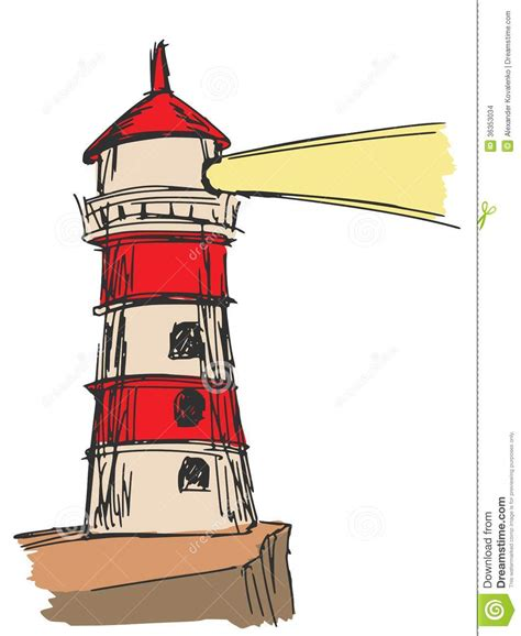 lighthouse home floor plans lighthouse stock images image 36353034