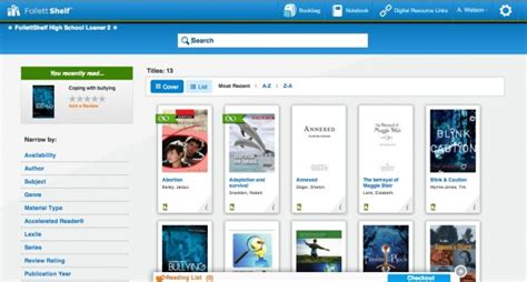Follet Shelf by Follett Classroom Connections A New Set Of Ebook Tools