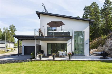 white interiors homes modern stone house with white interiors