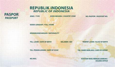 design paspor baru indonesia imigrasi pastikan paspor baru indonesia sistem keamanan