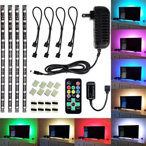 mini led light strips amazon com led tv backlight light kit avawo 174 computer