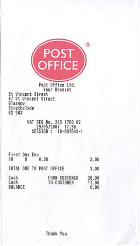 Tax Return Office Near Me by Post Office Receipts Digital