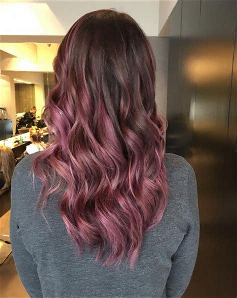 mauve hair color chocolate mauve hair autumn39s new colour trend of
