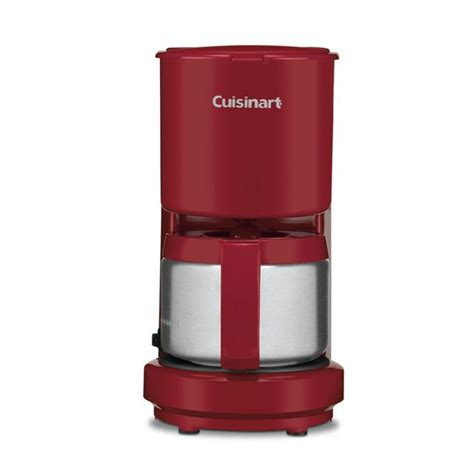 Cuisinart   DCC 450R   4 cup Coffee Maker, Red   Sears Outlet