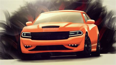 2015 Dodge Charger SRT Hellcat Rendered: Most Powerful Sedan in the World   autoevolution