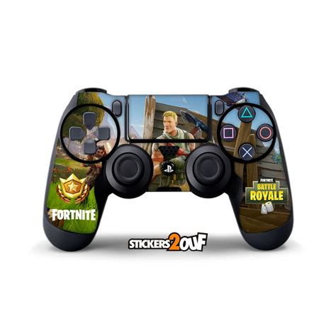 fortnite on ps4 skin fortnite dualshock 4 sony sticker pour manette ps4