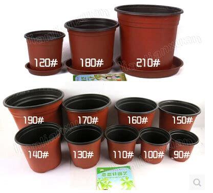 Thin Plant Pots Flower Pots 20pcs Lot Diameter 140mm Garden Supplies