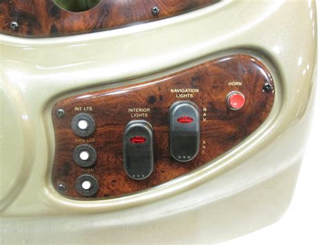 boat center console gauges boat center console top cover helm dash pontoon gauge