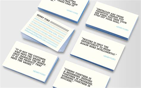 Ford Business Card Template by Henry Ford Luxe Business Cards