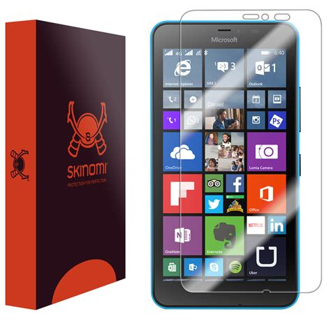Microsoft 640 Xl skinomi techskin microsoft lumia 640 xl screen protector