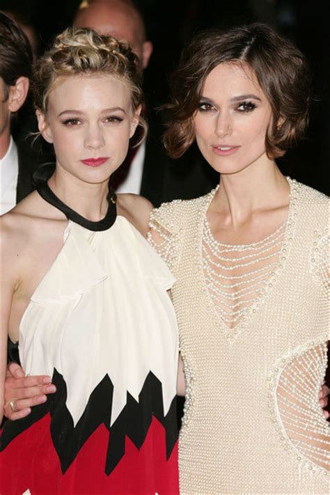 Keira Knightley Amuri And Mamie Gummer On The Carpet For Atonement by Celebfan S Page The European Premiere Of Quot Never Let Me Go