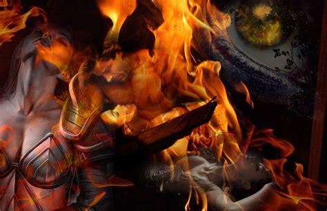 magia con le candele incantesimi di magia rossa portale della magia