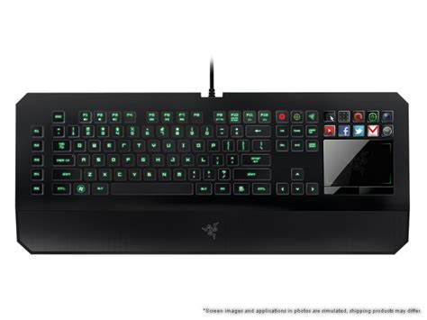 Keyboard Komputer Razer Razer Deathstalker Ultimate Gaming Keyboard Switchblade User Interface Keyboard Razer United