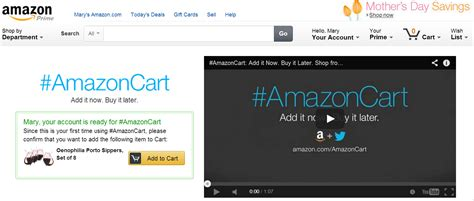 amazon twitter will amazoncart change the utility of social