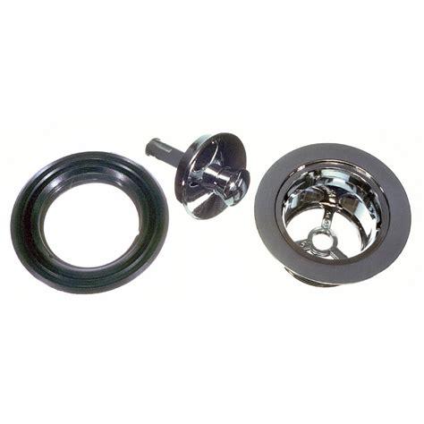 drain stopper bathtub 1 1 2 in mobile home rv tub drain stopper in chrome danco