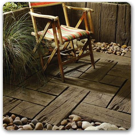railway sleepers as flooring would to use this in