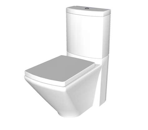 contemporary toilet contemporary toilet sketchup model cadblocksfree cad