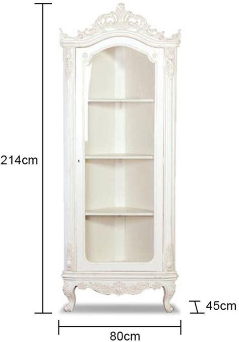 white corner display cabinet french glazed corner cabinet white sideboards display