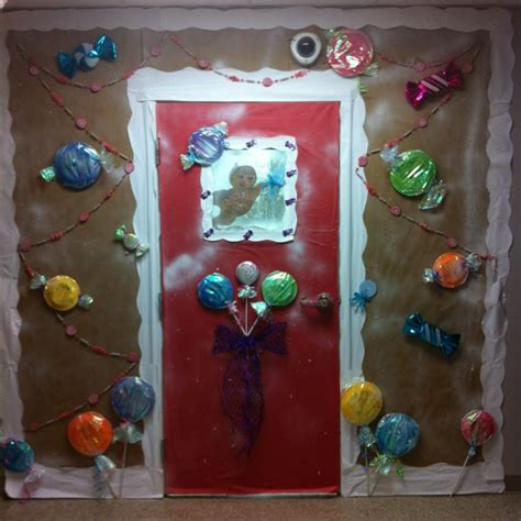 Gingerbread Door Decorating Ideas by Gingerbread Door Decoration Random