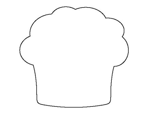 Printable Muffin Template muffin pattern use the printable outline for crafts