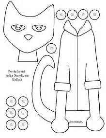 pete the cat printable template free coloring pages of pete shoe