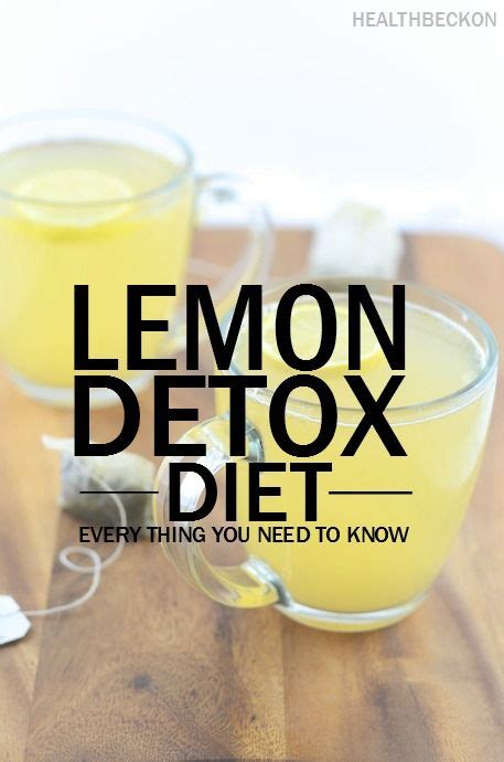 Lemon Detox Diet Plan Free by 17 Best Images About Diet 70 30 Eat Healthy On