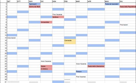 Calendario Giorni Festivi Ticino Calendario Scolastico Piemonte 2015 2016 Calendario