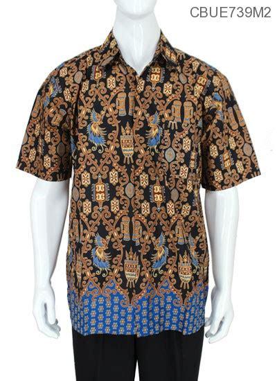 Baju Gamis Batik Pekalongan Wanita Motif Asmat Biru Busui baju batik kemeja ekslusive motif asmat modern kemeja