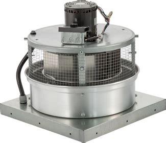 600 cfm exhaust fan 600 cfm direct drive downblast exhaust fan with 10 5