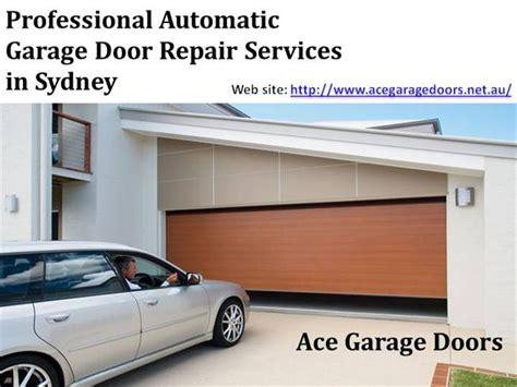 professional automatic garage door repair services in