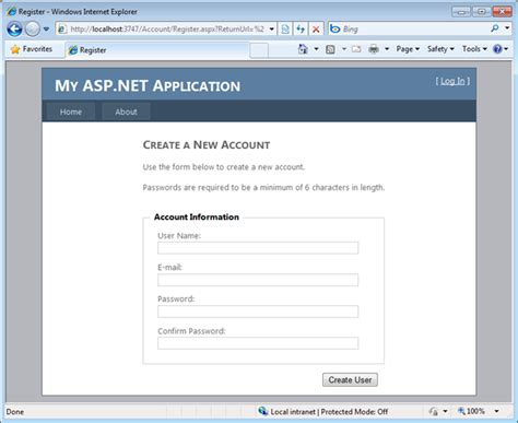 template for website in asp net c scottgu s blog starter project templates vs 2010 and