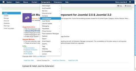 tutorial joomla component development create a multilingual site in joomla arvixe blog