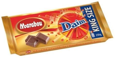 daim chocolate ikea marabou daim milk chocolate bar king size 250g