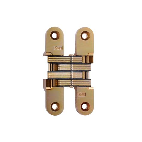 soss invisible hinge installation soss 3 4 in x 3 3 4 in satin brass invisible hinge