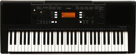 Keyboard Yamaha E343 Yamaha Psr E343 61 Key Portable Arranger Sweetwater