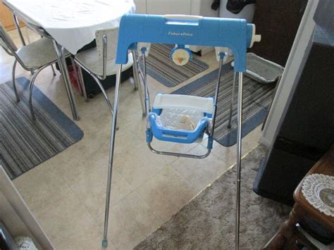 fisher price lift and lock swing fisher price port a swing 80 s 90 s baby pinterest