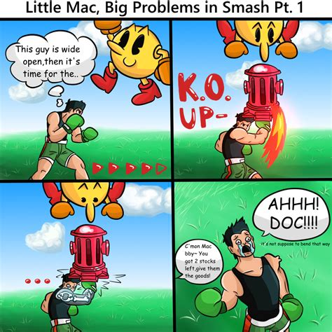 Little Mac Meme - 4bits little mac big problems in smash by