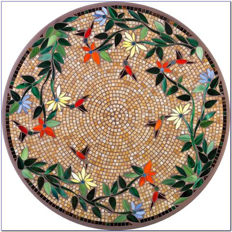 round mosaic pattern ideas mosaic round table top patterns download page home