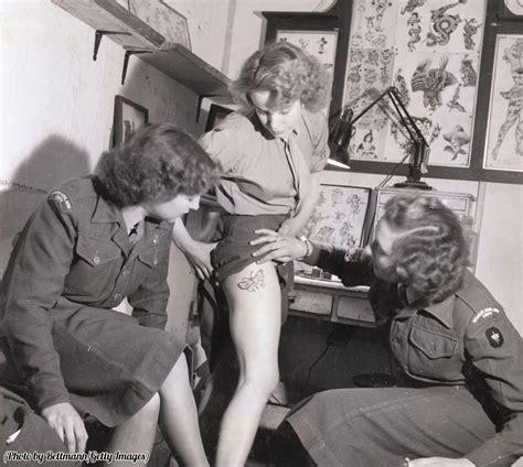 tattoo history blog daily history picture tattoo ww2 beachcombing s bizarre