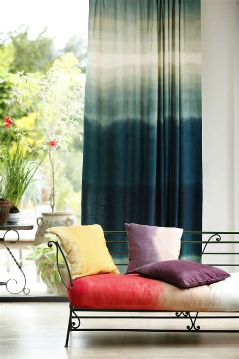 ombre curtains diy blue ombre curtains apt ideas pinterest ombre