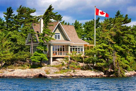 Cottage In Canada by 187 Mcdougall Cottage Thousand Islands Ontario Canada Patriot