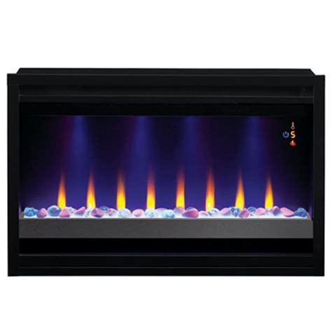 classic 36 quot electric fireplace built in 220v insert - 220v Electric Fireplace