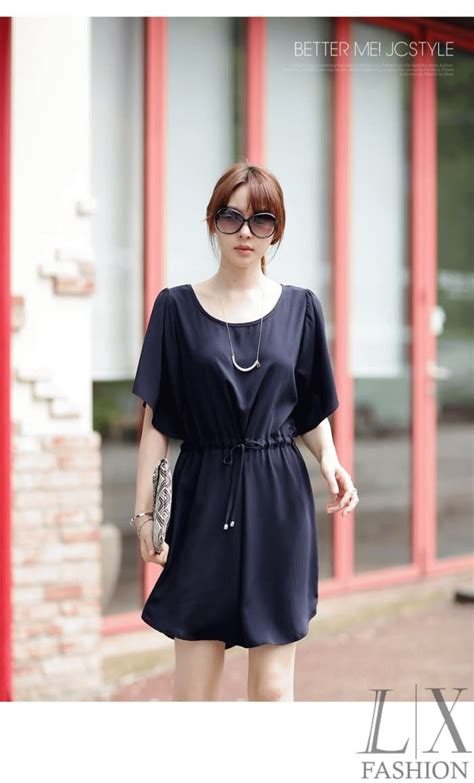 Baju Dress Wanita Navy jual navy dress baju korea murah bee s fashion shop