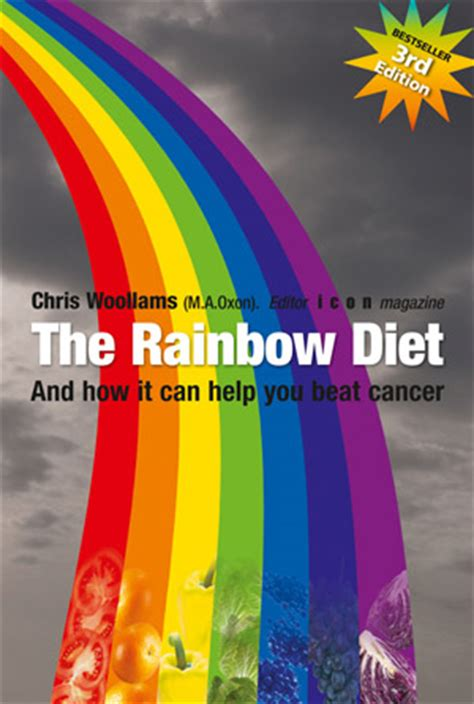 the rainbow diet a holistic approach to radiant health through foods and supplements books anti cancer diets