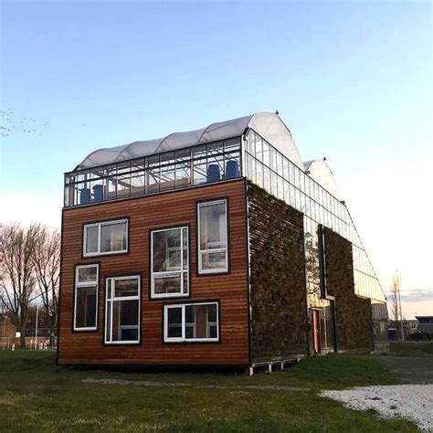 urban green house dutch family of four living in experimental urban