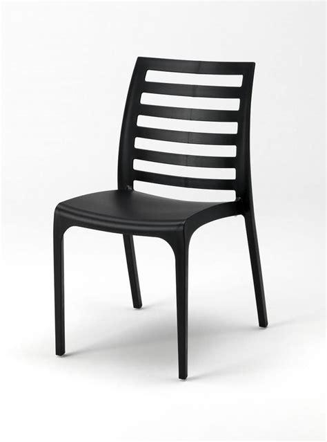 sedie esterni sedia impilabile in plastica per esterni idfdesign