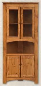 Corner Cabinet Glass Doors Pine Four Door Corner Cabinet W Glass Doors Serving Area Lower Wood Doors Unfinished