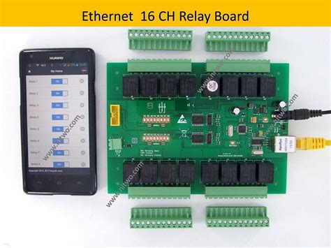 network 16 do ethernet relay board android phone computer