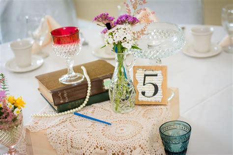 Diy Shabby Chic Wedding Centerpieces Fab Mood Wedding Shabby Chic Wedding Table Centerpieces