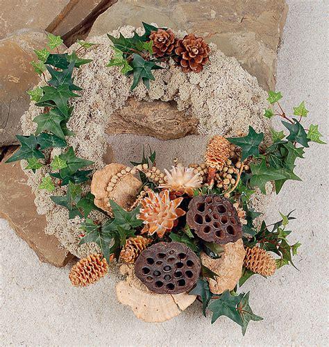 deko selber machen 3466 gestecke mit trockenblumen basteln